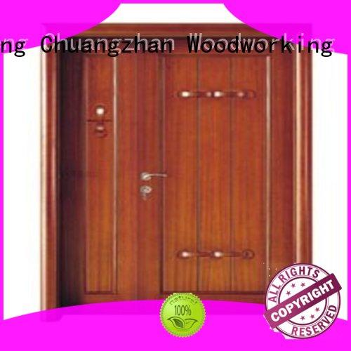 Runcheng Chuangzhan attractive double entry doors Suppliers for villas