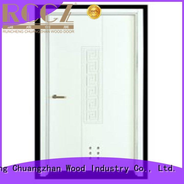 door hot selling flush durable plywood flush internal doors Runcheng Chuangzhan Brand