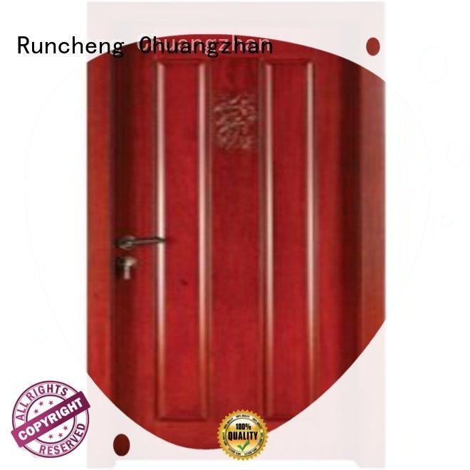Runcheng Chuangzhan eco-friendly bedroom door designs in wood for business for hotels