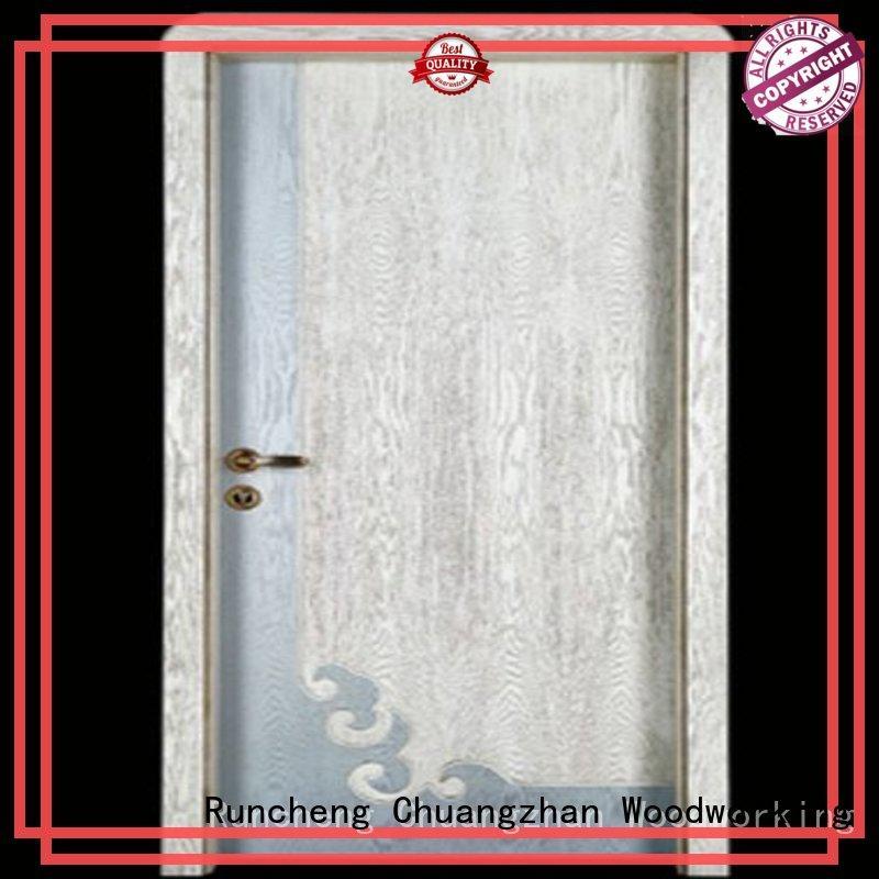 Runcheng Chuangzhan door wooden door manufacturers for homes