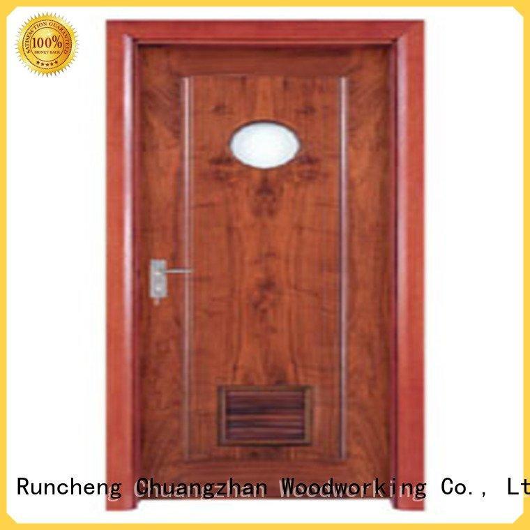 Runcheng Woodworking Brand bathroom door solid wood bathroom doors door door