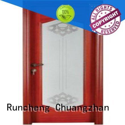 high-grade solid wood glazed internal doors solid wholesale for villas