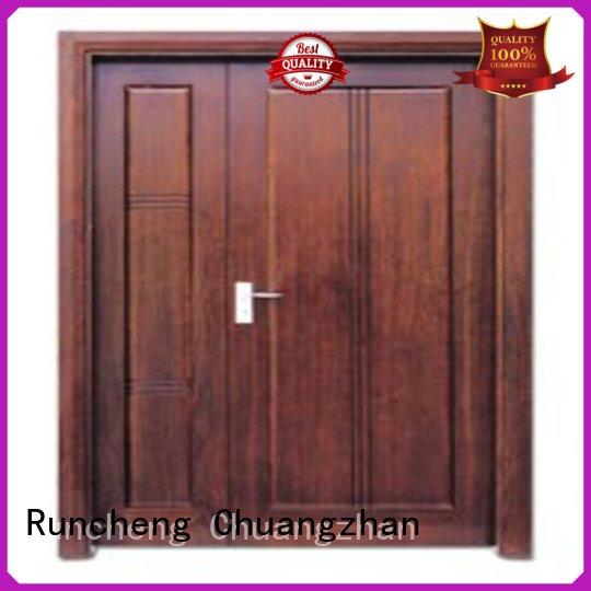 Runcheng Chuangzhan high-grade double entrance doors Suppliers for villas