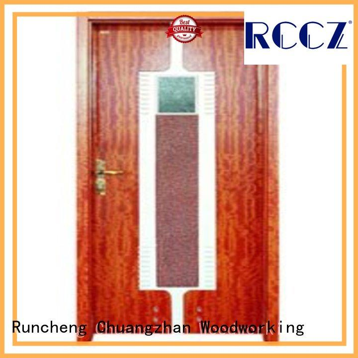 Runcheng Chuangzhan durability bathroom door replacement series for hotels