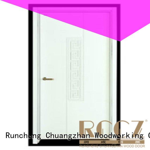 Runcheng Woodworking wooden flush door pp009 pp003 pp0052 pp0042
