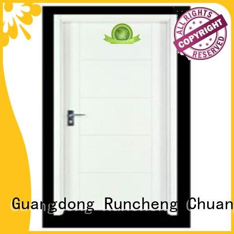Runcheng Chuangzhan reliable flush solid core wood interior doors series for offices