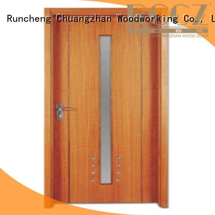 Custom wooden flush door flush door door Runcheng Woodworking