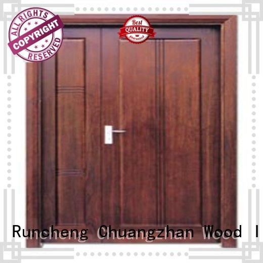 solid quality double door interior double doors Runcheng Chuangzhan