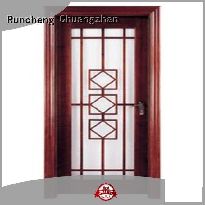 Runcheng Chuangzhan durability internal glazed double doors supplier for offices