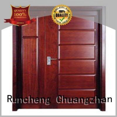 flush Custom hot selling door wooden flush door Runcheng Woodworking durable