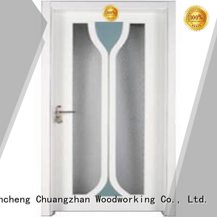 Runcheng Woodworking solid wooden glazed doors wood