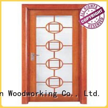 Runcheng Woodworking x0163 wooden double glazed doors x0213 x0104