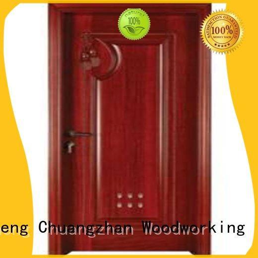 attractive wooden bathroom door door factory for indoor