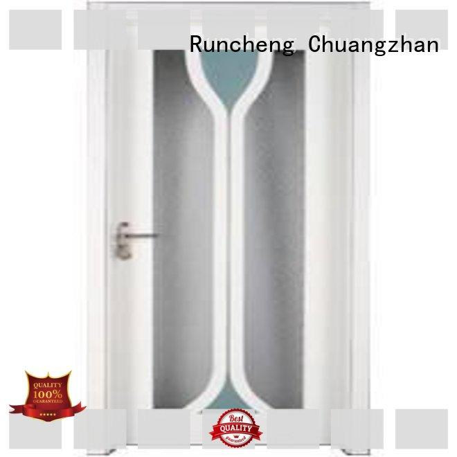 Runcheng Chuangzhan high-grade double glazed interior doors wholesale for villas