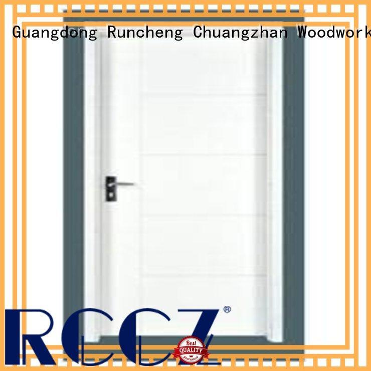 Runcheng Chuangzhan high-quality wooden flush door price manufacturer for homes