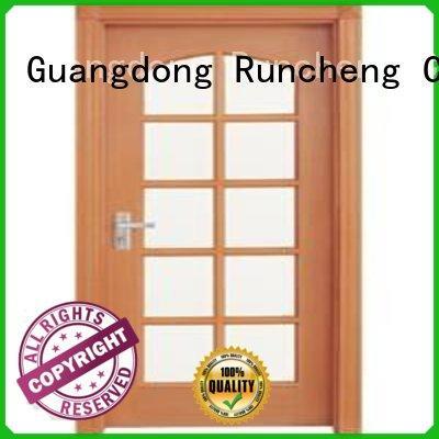 Runcheng Chuangzhan consummate internal glazed doors for business for hotels