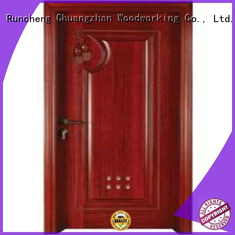 bathroom door replacement door bathroom Runcheng Woodworking Brand