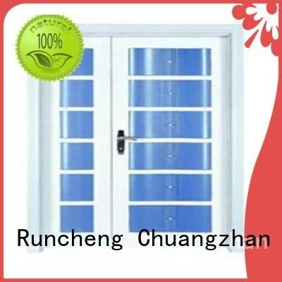 x0131 x0101 l0081 Runcheng Woodworking interior double doors