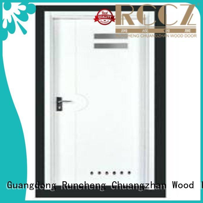 modern flush doors with solid wood supplier for villas Runcheng Chuangzhan