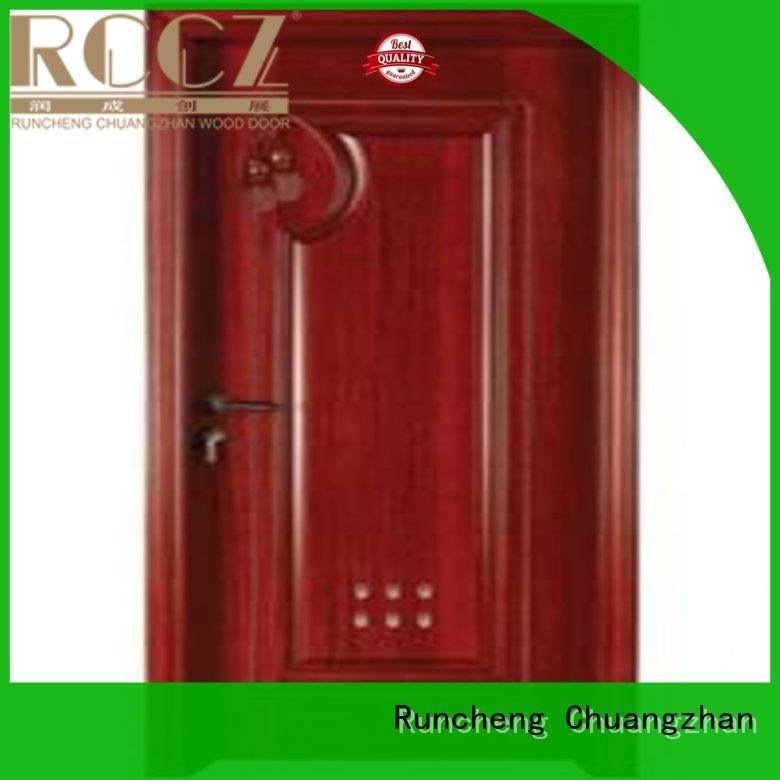 eco-friendly wooden bathroom door attractive manufacturers for villas