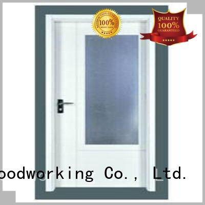 flush mdf interior wooden door hot selling door flush Runcheng Woodworking Brand
