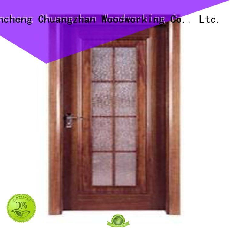 flush mdf interior wooden door durable Runcheng Woodworking Brand wooden flush door