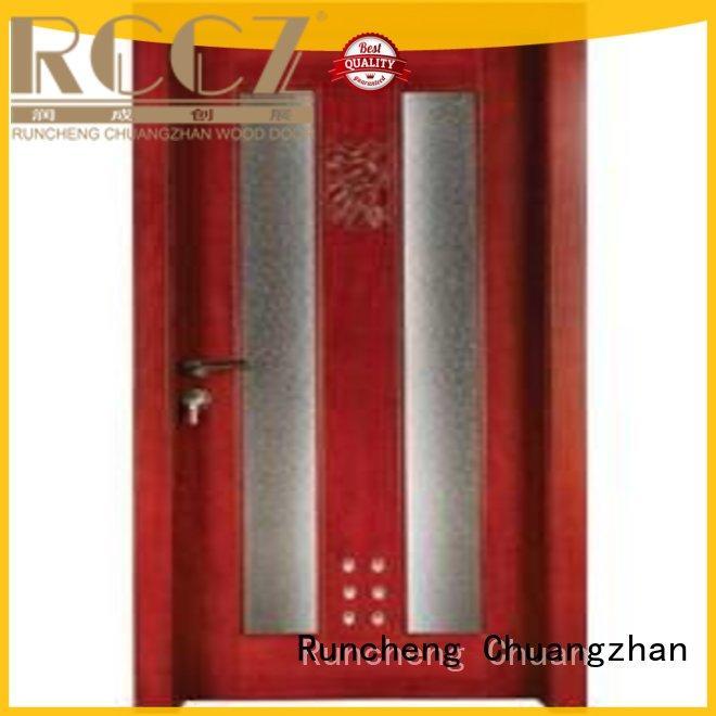 Runcheng Chuangzhan durability internal bathroom door manufacturers for hotels