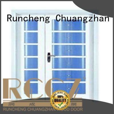 double door solid quality solid quality Runcheng Woodworking Brand interior double doors supplier