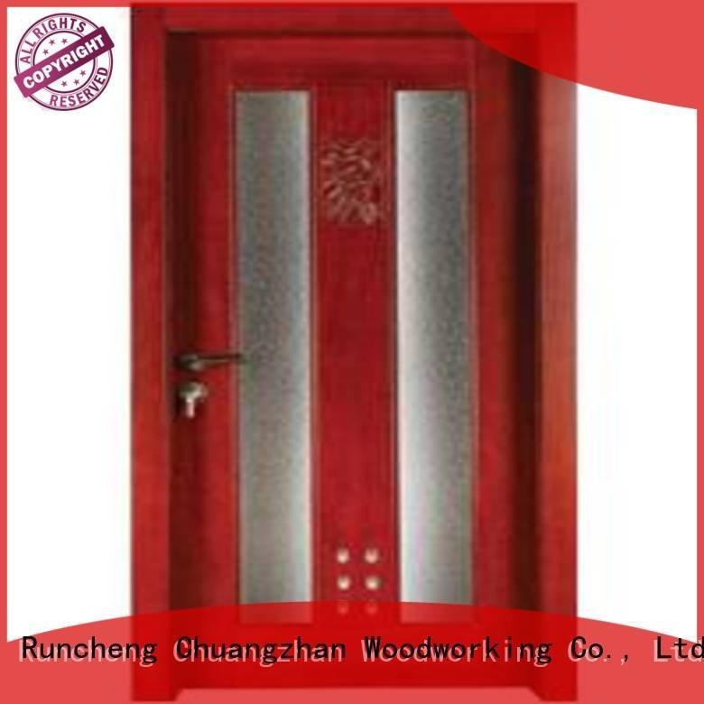 x0332 wooden bathroom door s0112 bathroom Runcheng Woodworking