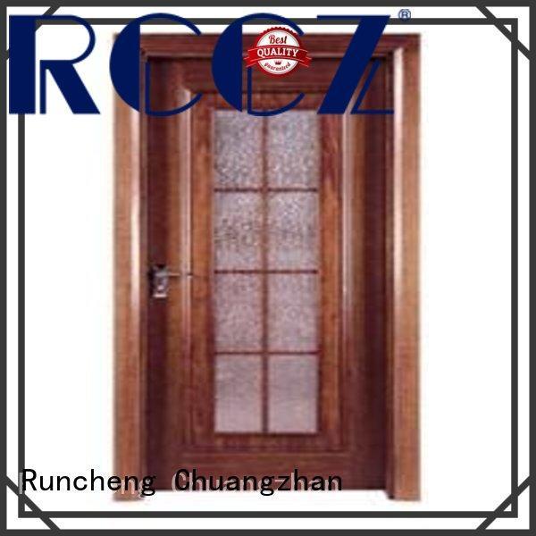 Runcheng Chuangzhan wooden flush door price list manufacturer for homes