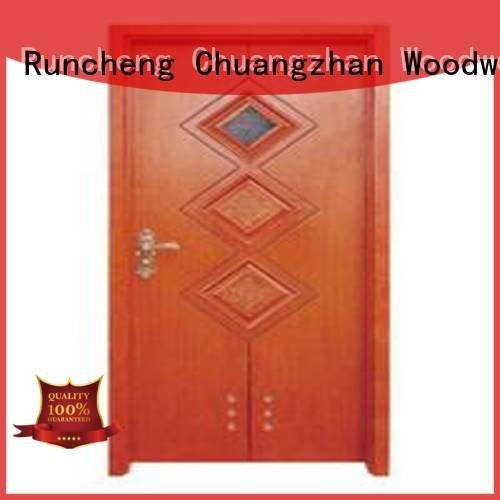 composite interior doors bathroom door Runcheng Woodworking Brand