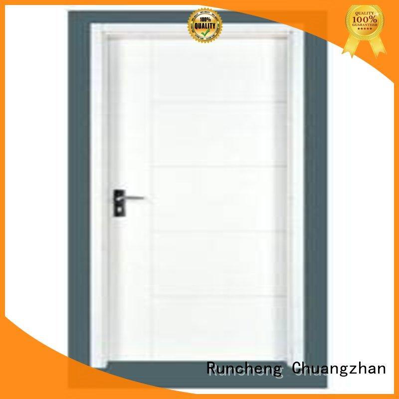 wooden flush door design for villas Runcheng Chuangzhan