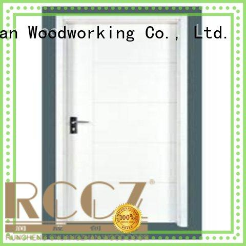 Runcheng Woodworking Brand door flush custom flush mdf interior wooden door
