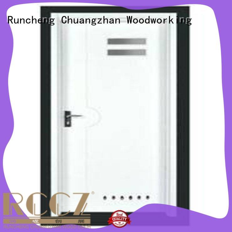 Runcheng Chuangzhan eco-friendly wooden flush door manufacturers supplier for homes