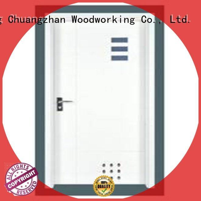 durable hot selling flush mdf interior wooden door Runcheng Woodworking manufacture