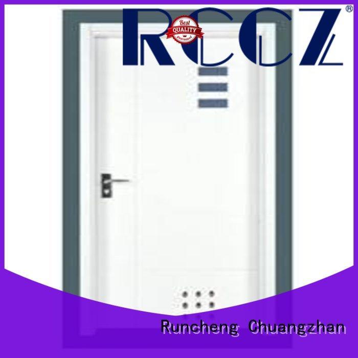 Runcheng Chuangzhan popular wooden flush door price list supplier for homes