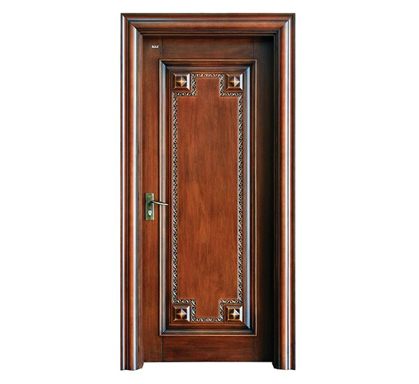 Runcheng Woodworking S031 Interior pure solid wooden door Solid  Wood  Composite Door image1