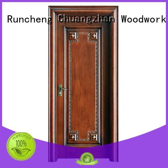 door modern design Runcheng Woodworking Brand wooden kitchen cabinet doors