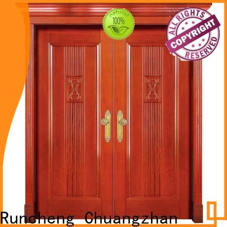 Runcheng Chuangzhan Top wooden double doors company for offices