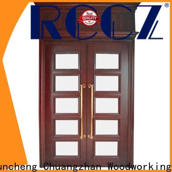 Top double door design door supply for indoor