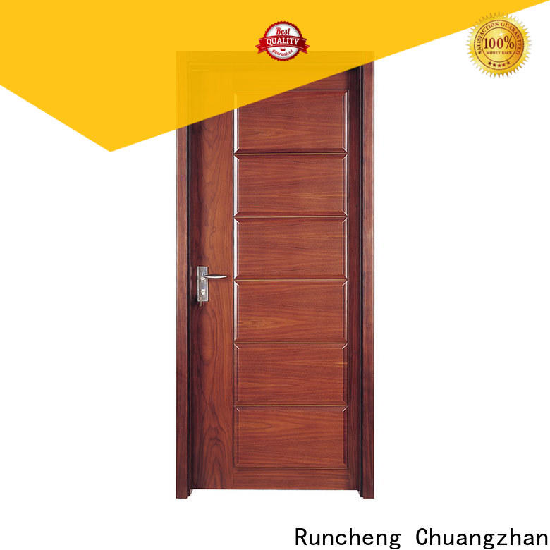 Runcheng Chuangzhan High-quality solid wood doors suppliers for indoor