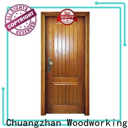 Runcheng Chuangzhan exterior wood doors supply for offices