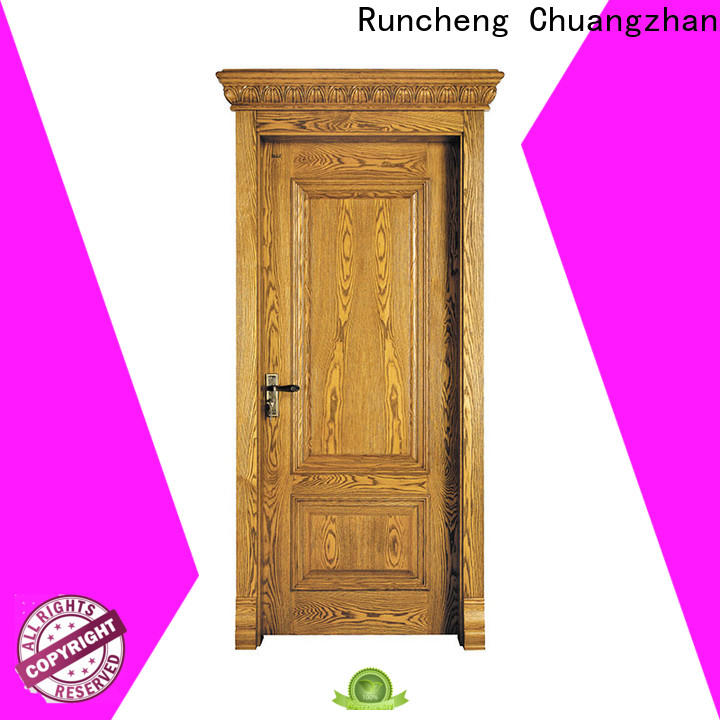 Runcheng Chuangzhan exterior wood doors company for homes