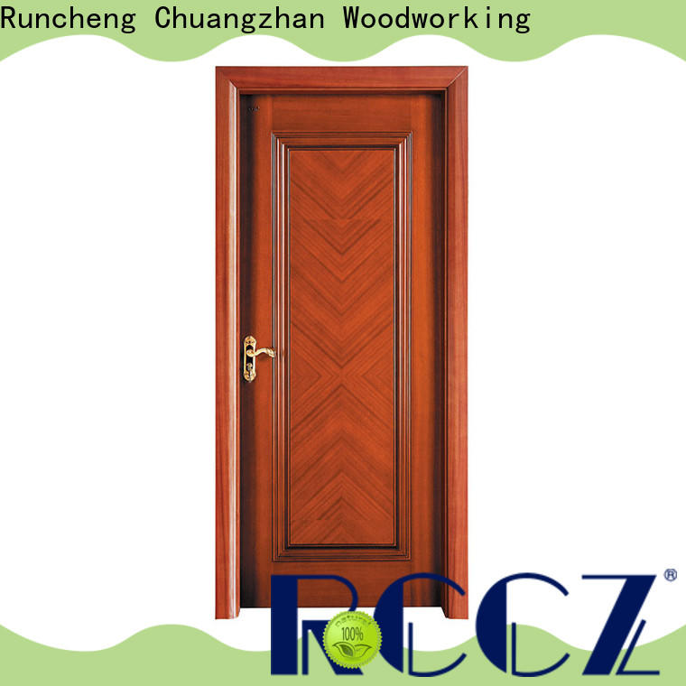 Runcheng Chuangzhan Top solid hardwood doors exterior factory for homes