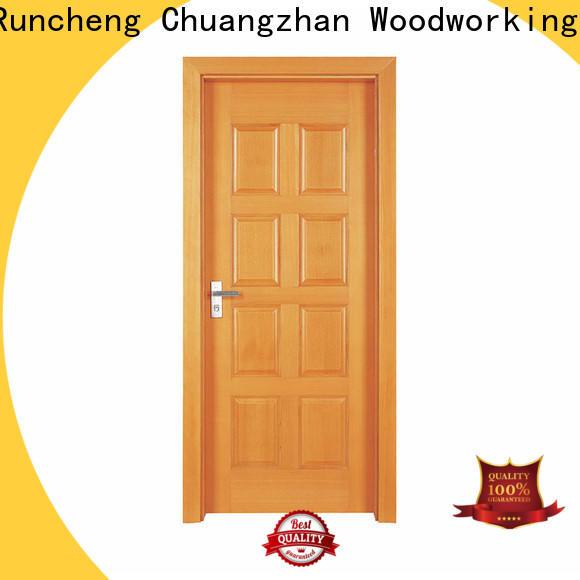 Runcheng Chuangzhan New wooden double door for business for villas