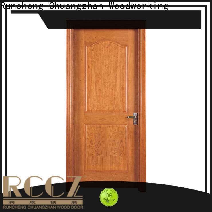 Runcheng Chuangzhan Latest solid interior doors factory for homes