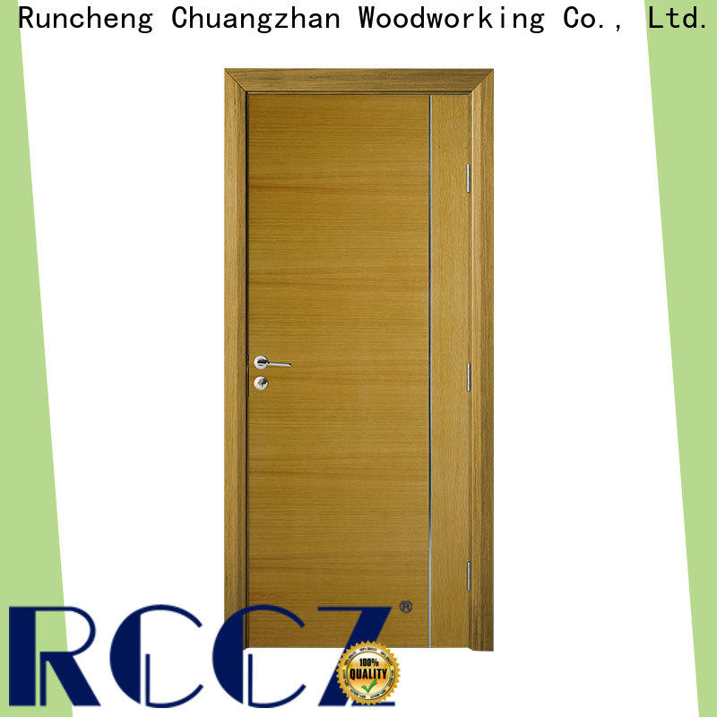 New white internal wood door suppliers for hotels