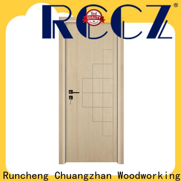 Runcheng Chuangzhan white internal wood doors suppliers for hotels