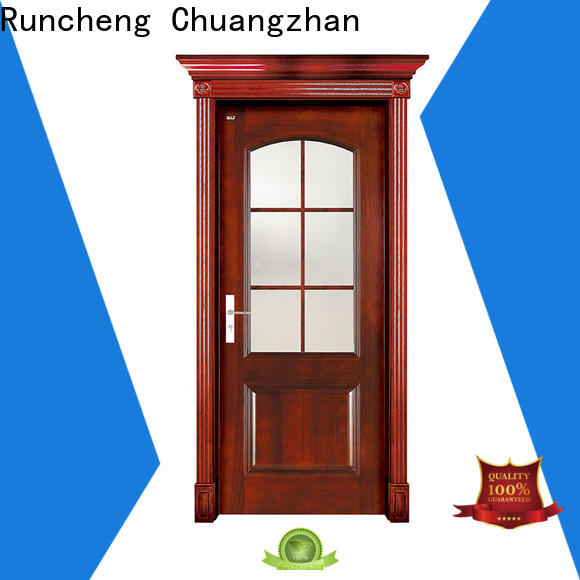 Runcheng Chuangzhan wooden door style factory for hotels