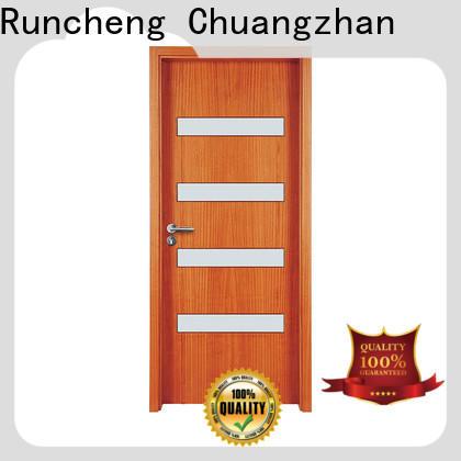 Runcheng Chuangzhan Latest glass exterior doors factory for offices